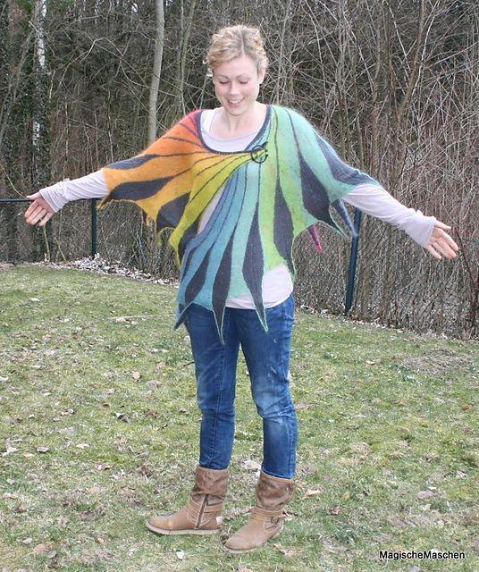 Dreambird KAL pattern by Nadita Swings | Chal, Bolso tejido y Sweter