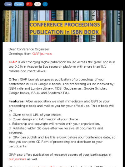 Publish conference proceedings in isbn google e books our journals proceedings publication fandeluxe Image collections