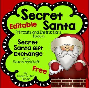 47+ Secret santa gift exchange clipart ideas