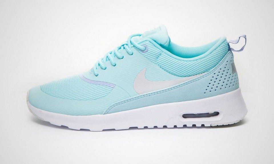 Nike Air Max Thea Womens Trainers Sky Blue White [nike04