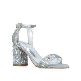 3795b93d8eb Gigi Grey Mid Heel Sandals from Carvela Kurt Geiger