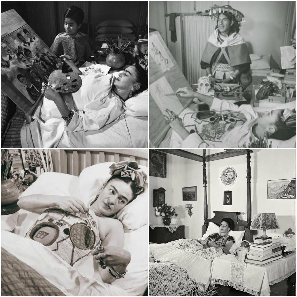 Fotografías de Frida Kahlo sobre su vida  - Fotogr