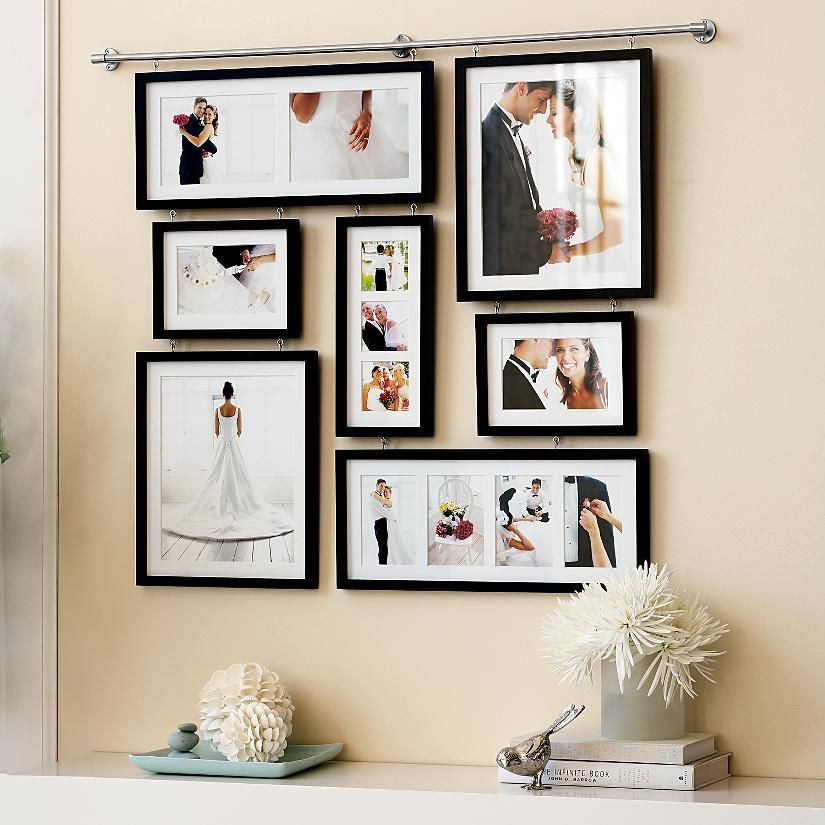 Wedding Gallery Wall Very Nice Idea Could Be For A Special Occasion One On Each Birth Anniversary Graduation