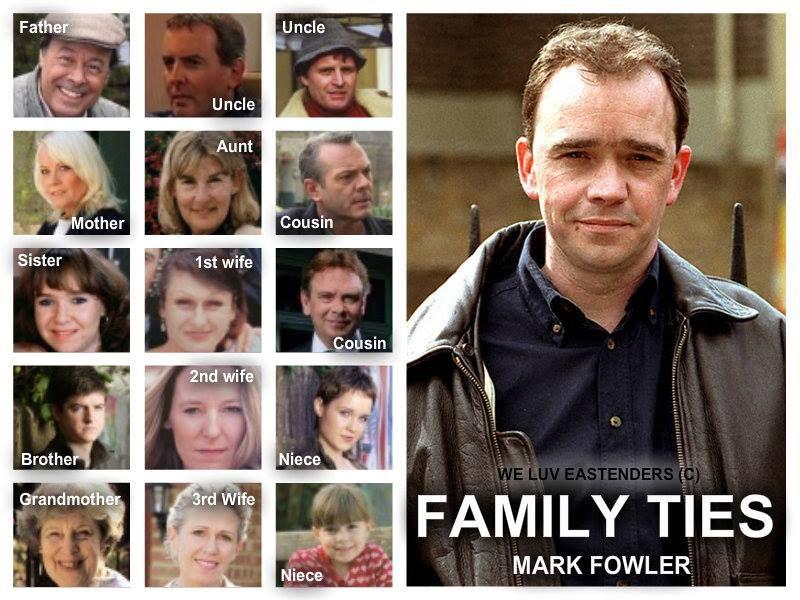Family Ties Mark Fowler Eastenders Tv Programmes British Tv Series