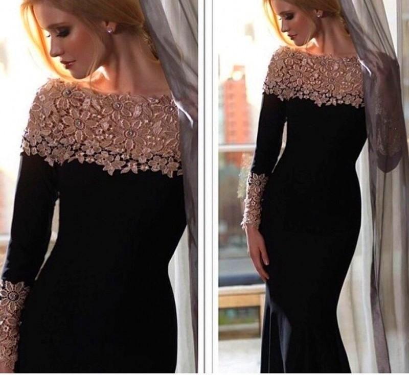 Affordable Evening Dresses New 2015 Fashion Black Velvet Evening ...