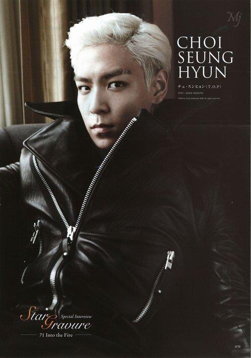 Top Choi Seung Hyun My Fav Photo Shoot Top And Big Bang They