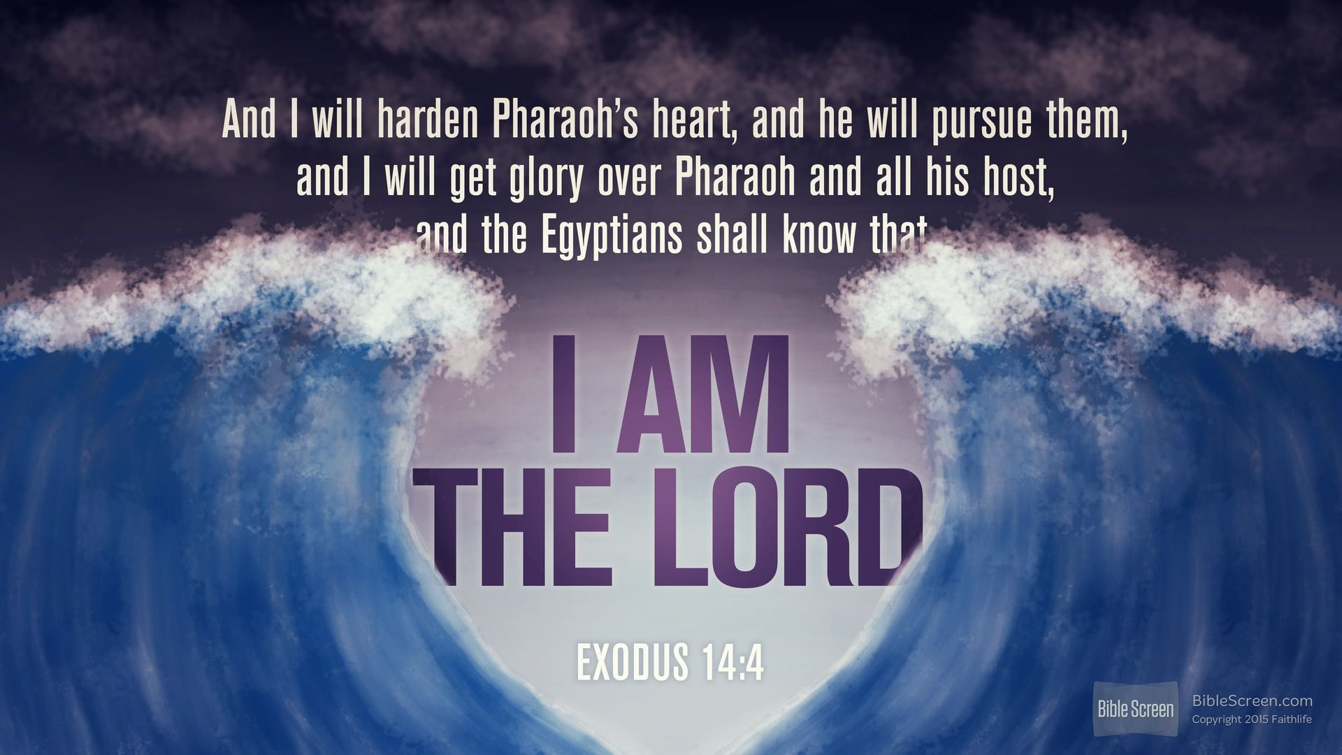 Exodus 14:4 (RSVCE) - Biblia.com | Exodus, Verse of the day, Bible