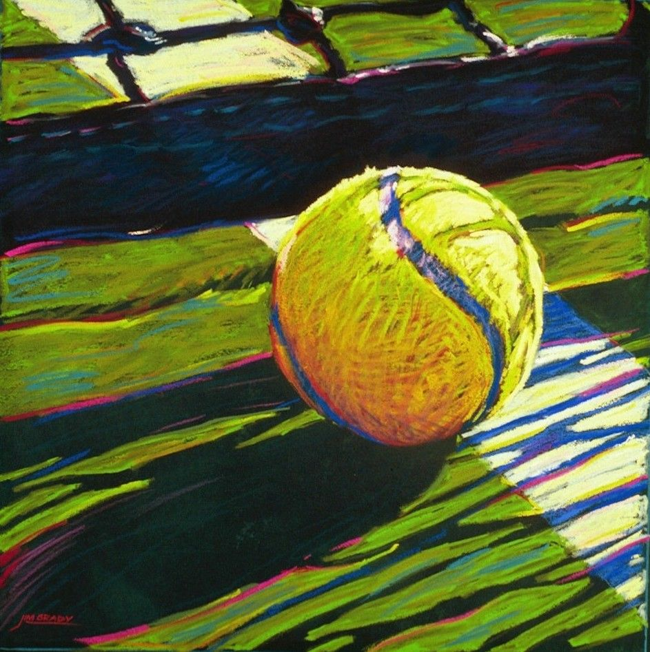 Tennis Canvas Painting Google Search Tennis Art Tennis Artwork Sports Painting