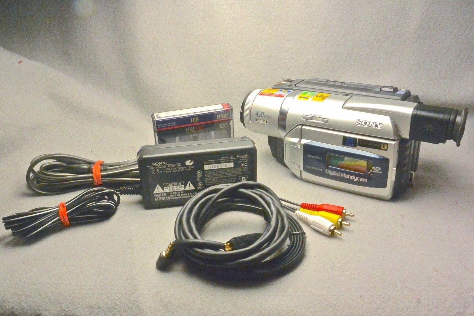 SONY DCR-TRV520 Handycam Digital 8 /Hi8 / Video8 Player Camcorder