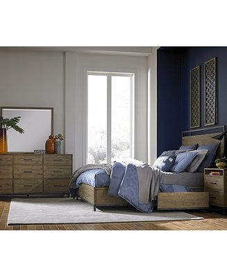Furniture Gatlin Storage Platform Bedroom Furniture Collection Created For Macy S Reviews Furniture Macy S Bedroom Furniture Layout Platform Bedroom Bedroom Sets Furniture Queen