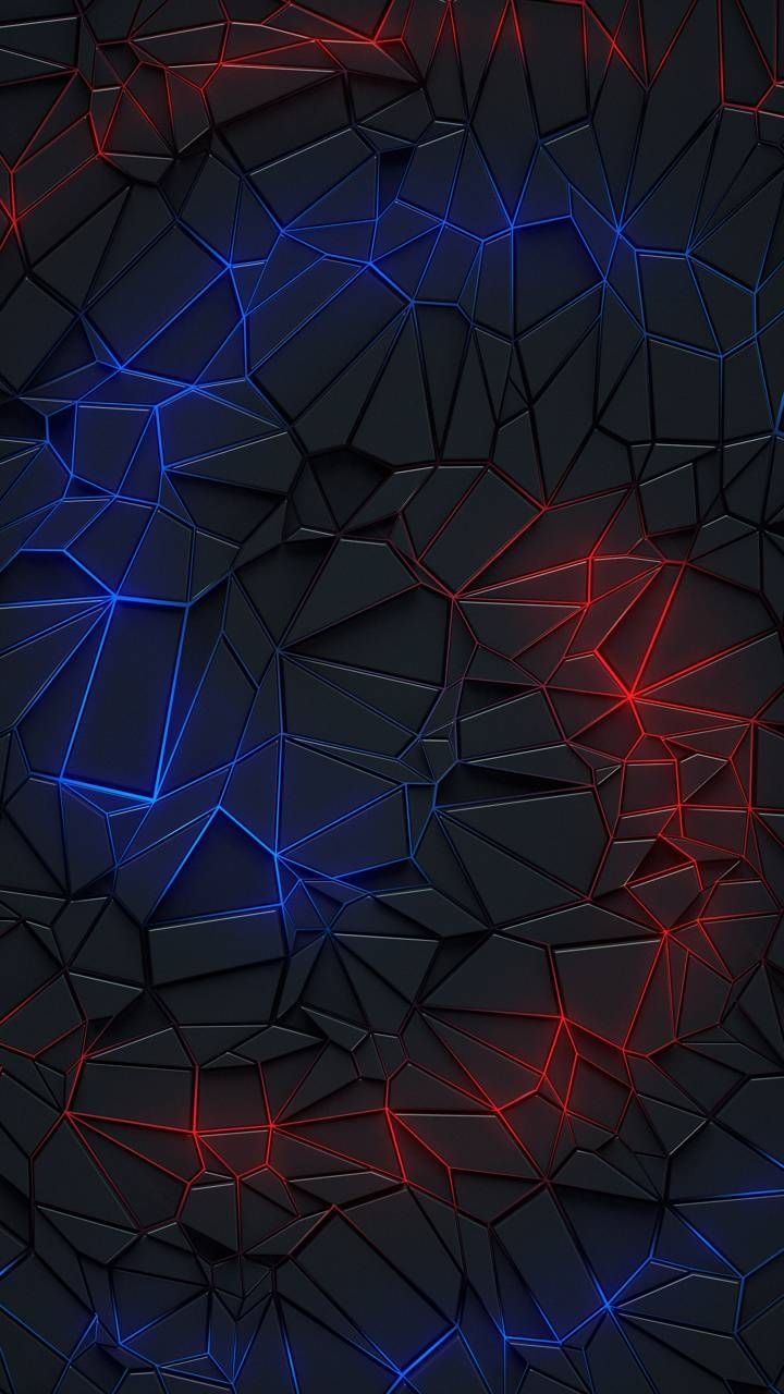 Neon line red and blue wallpaper by Georgking - da34 - Free on ZEDGE™