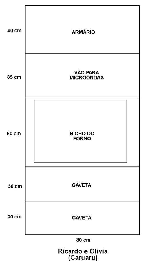 Projeto De Armario Para Forno E Microondas Torre Pesquisa Google