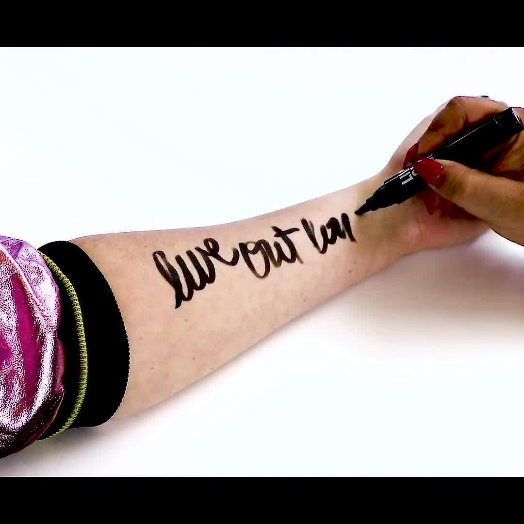 Photo of Spare your skin with the new perfumed body ink pen