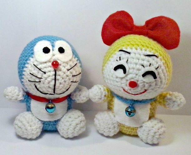 Amigurumi Doraemon Free Pattern : Dorami e doraemon amigurumi!! world of amigurumi pinterest
