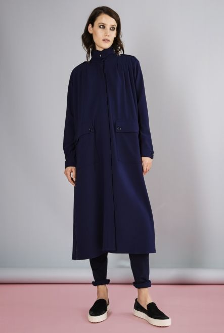 COAT ODESSA MIDNIGHT BLUE in the group All items / Coats at Rodebjer Form  AB (