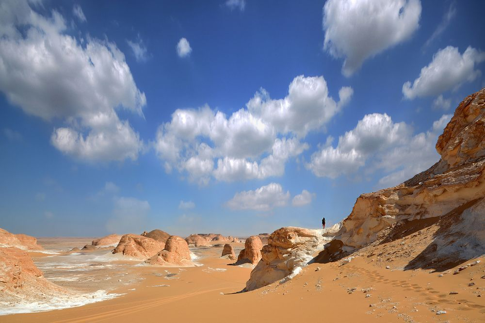 A place like no other Photo by Shovon Mahbub The White Desert is the most well-known desert destination in Egypt.— National Geographic Your Shot