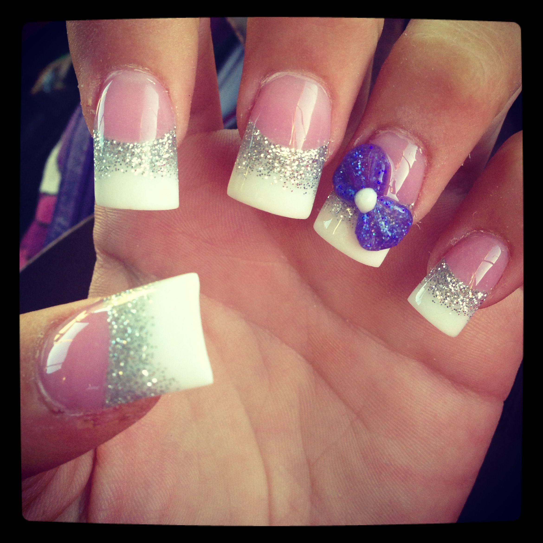 3D bow nail design | Nails | Pinterest | Bow nail designs, Fun nails ...