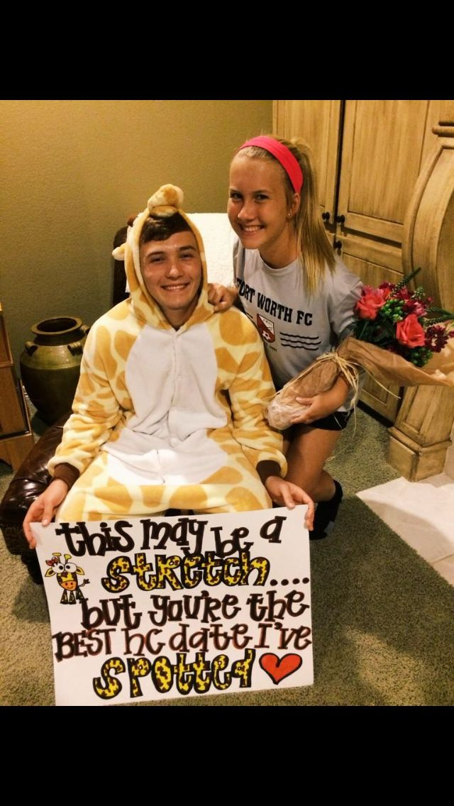 Adorable Creative Proposal Prom Prom Proposal