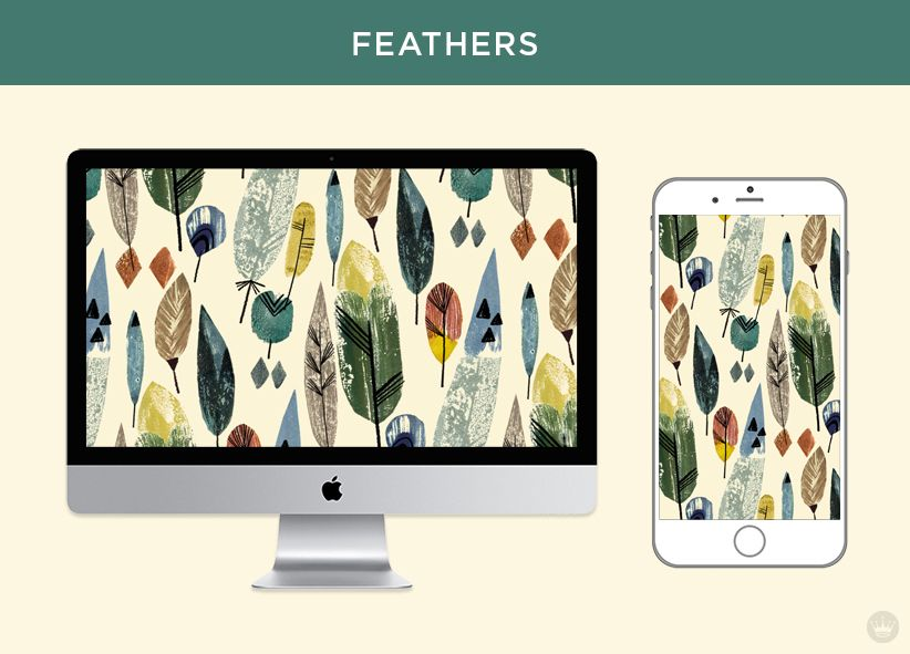 November Free Digital Wallpapers Fall Feathers And Leaves Fall Wallpaper Wallpaper Computer Humor