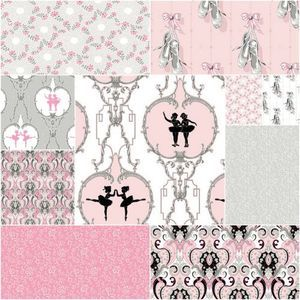 Arabesque Fat Quarter Bundle: Baby blanket