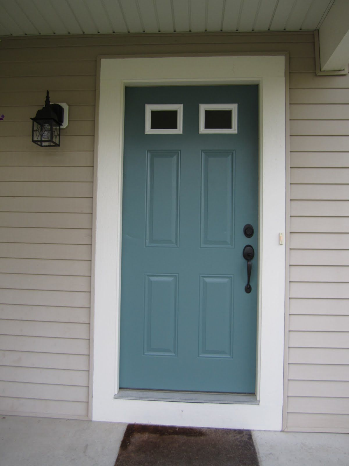 Front Door Reveal House Front Door House Front Front Door Colors