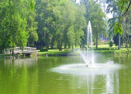 Orangeburg sc turtle pond located in edisto memorial gardens south carolina carolina girl for Columbia at south river gardens