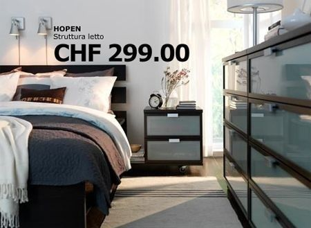 Camera da letto Ikea: Hopen, mobili minimal per la zona notte ...