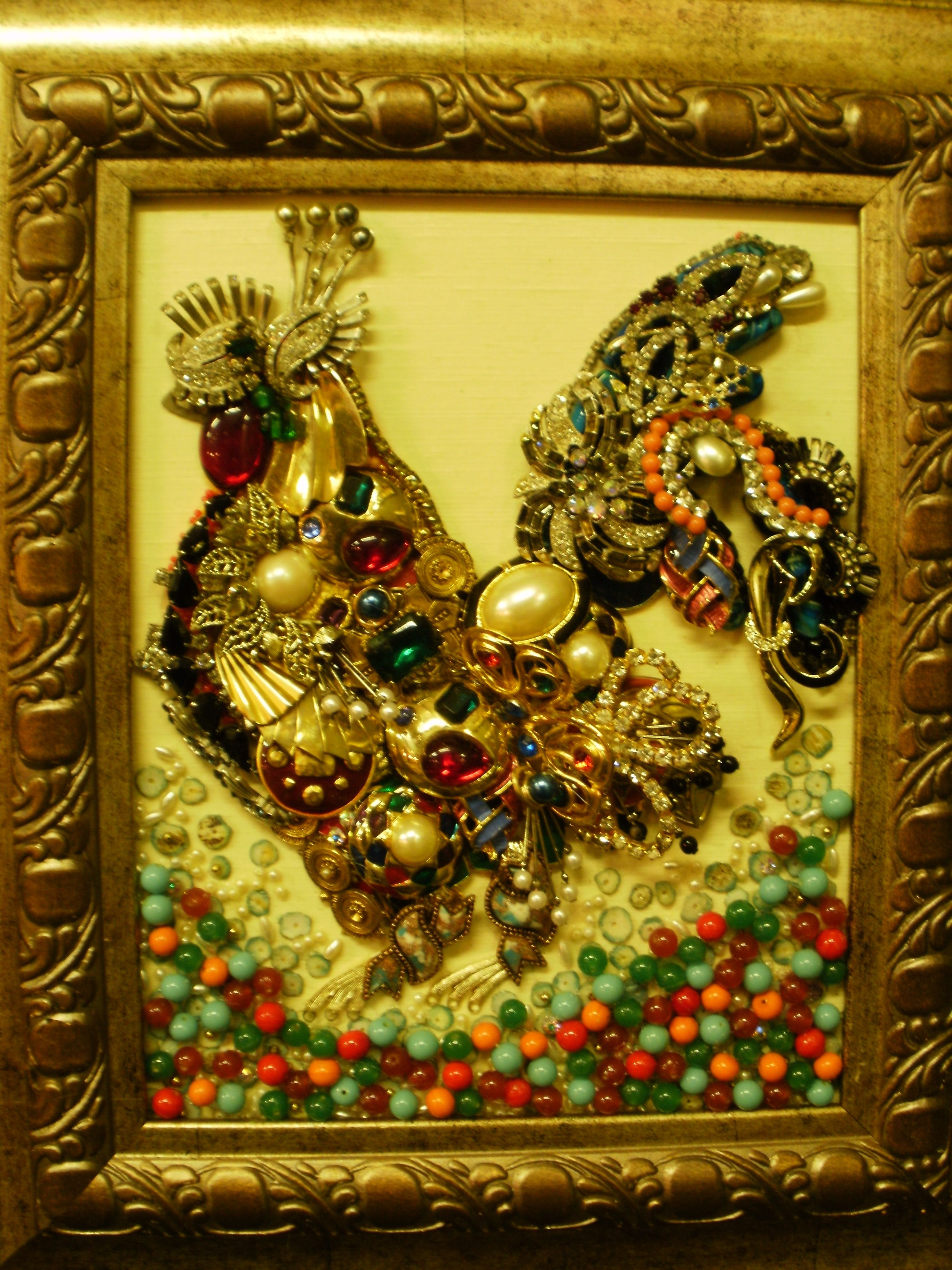 Art Projects With Vintage Jewelry