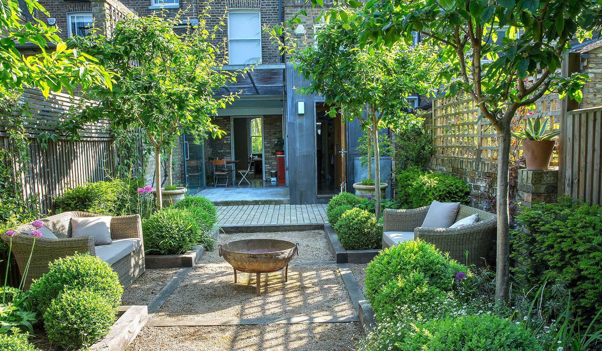 Bunny Guinness reveals the inside secrets of clever garden design is part of Urban garden Drawing - Starting with a roll of tracing paper, Bunny Guinness created a new garden in Hampstead that was exactly the lowmaintenance entertaining space her clients wanted
