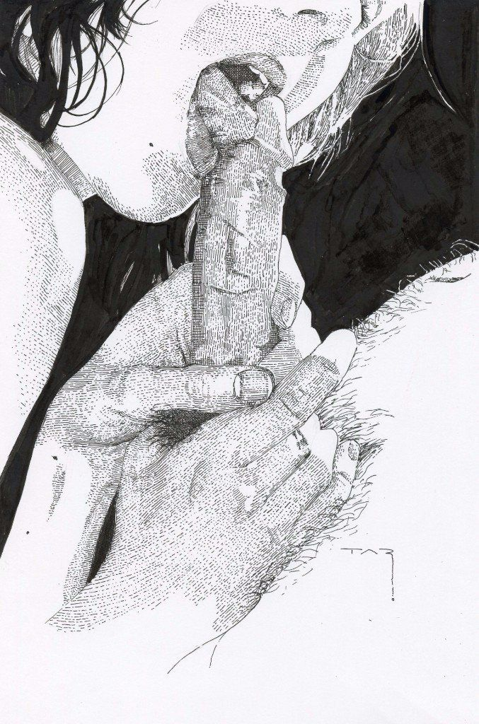 Couple oral drawings Black sex