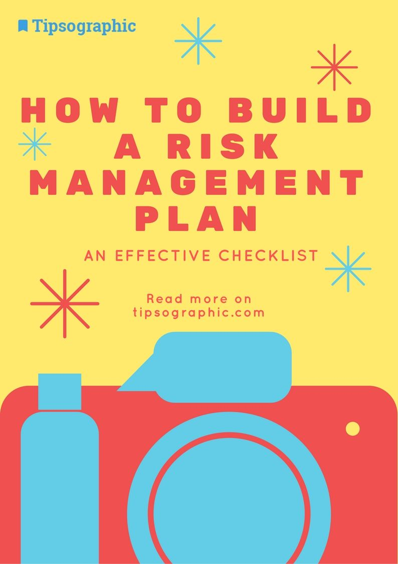 How To Build A Risk Management Plan An Effective Checklist  Risk