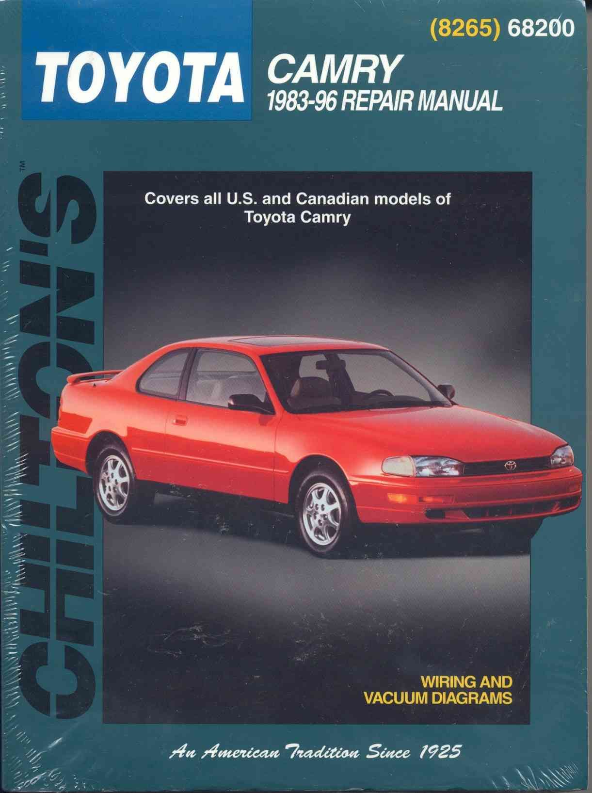Chiltons Toyota Camry 1983 96 Repair Manual Pinterest 1997 T100 Engine Vacuum Diagram