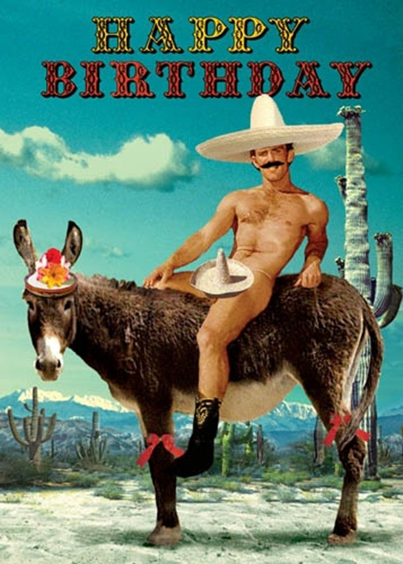 Mexican Donkey grcard Lighthouse Trading Someone has very bad – Donkey Birthday Card