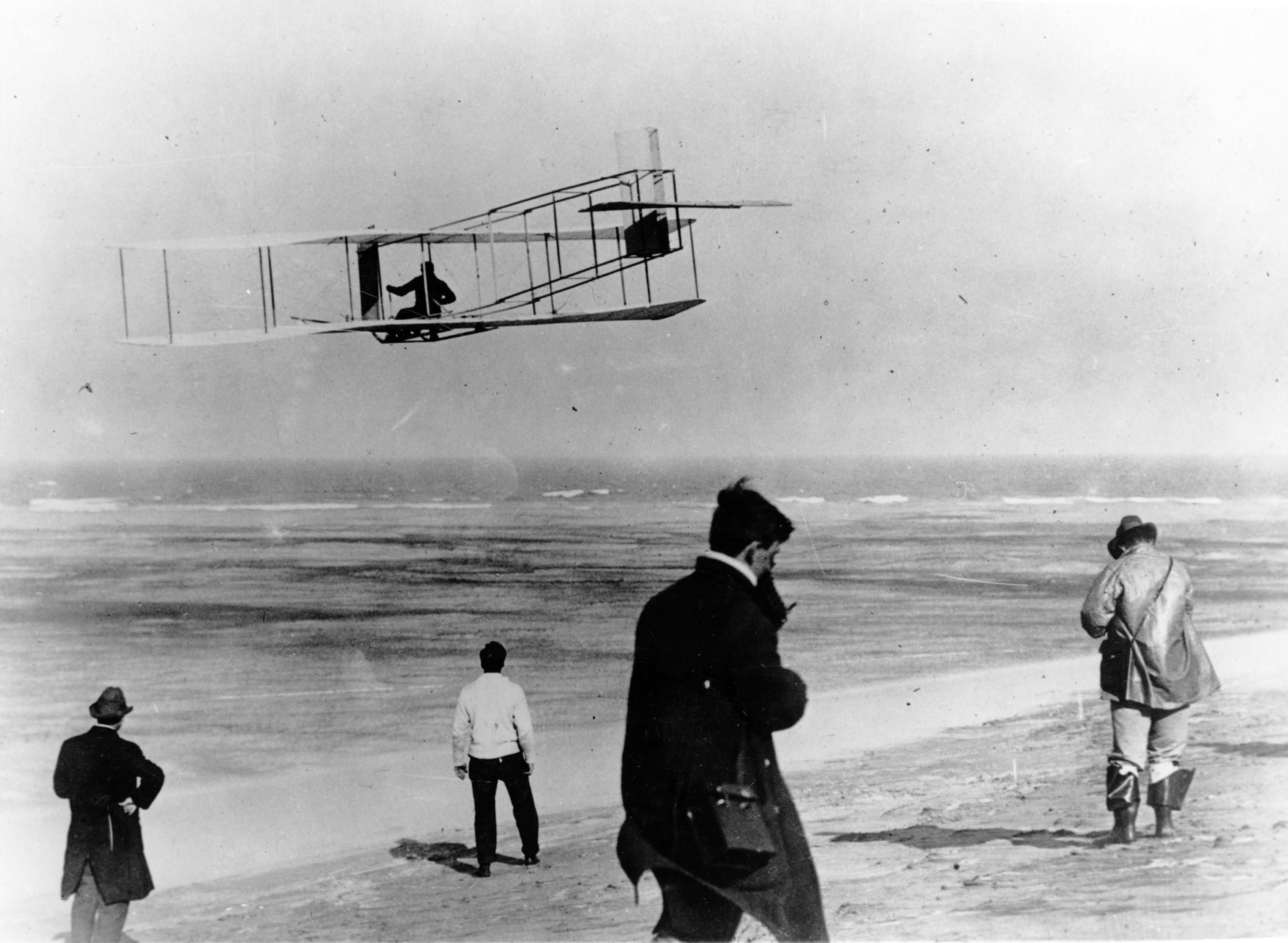 First Flight Kitty Hawk 1903 regarding after numerous failed attempts, on december 17, 1903 the wright