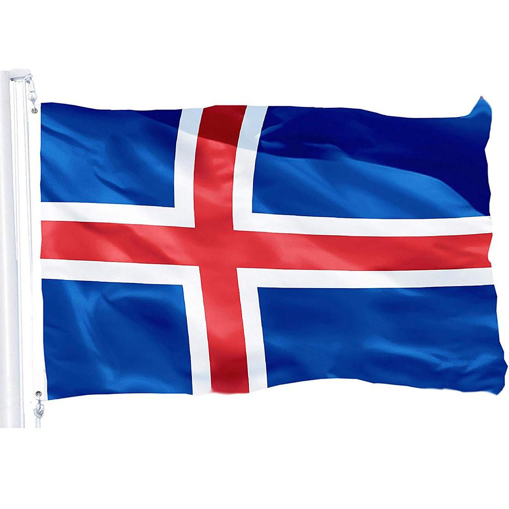 Customized Logo Flag And Country National Flags Stick Flags Buy National Flags Stick Flags Flag Stick Customized Logo Flag Produc Iceland Flag Wall Flag Flag