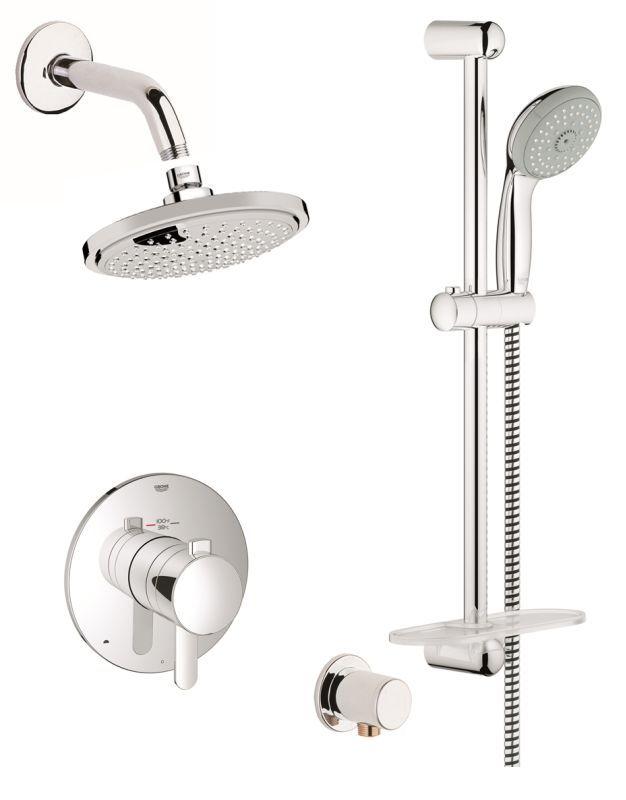 Grohe Gss Europlus Dth 03 With Images Shower Systems Shower