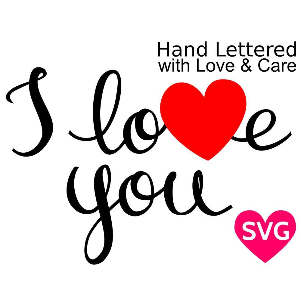 Download Valentine's Day I Love You SVG file for Cricut ...