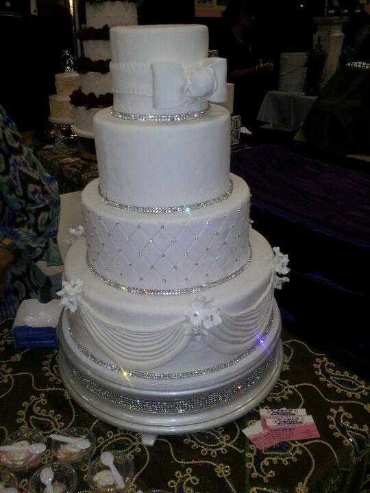 Bling Wedding Cakes Sparkle Wedding Cakes Wedding Cake Toppers