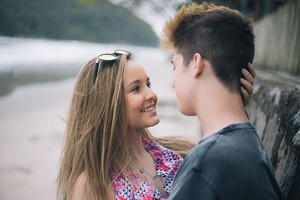 d75723e74c774 Na última semana, o casal Jolari completou um ano de namoro e aproveitou  para fazer uma grande .