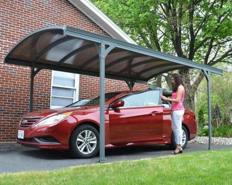 Carport Aluminium Polycarbonate Car Cover Canopy Vitoria 5000 Protection Shelter Car Canopy Curved Pergola Pergola Plans