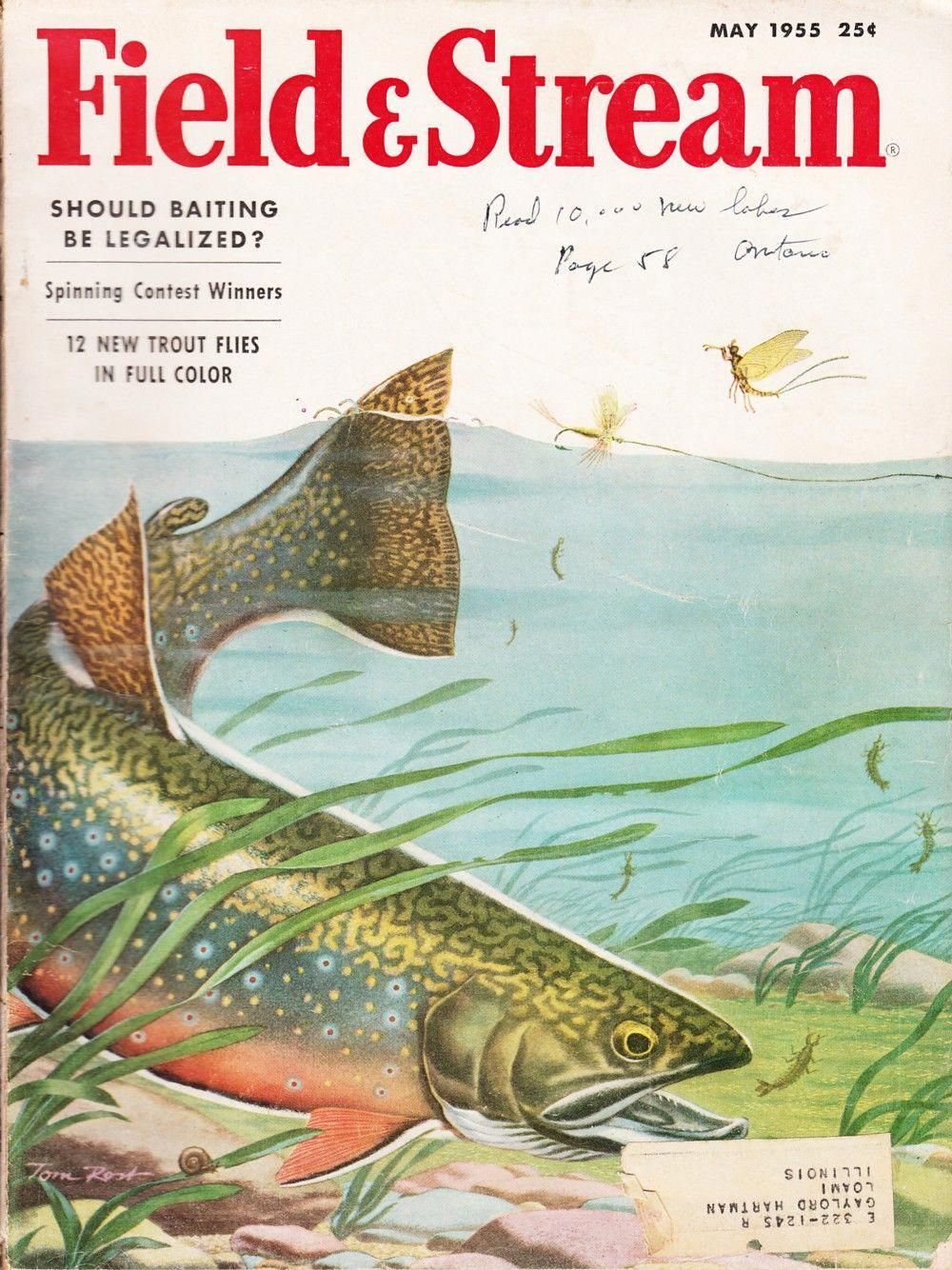 fishing field books stream and