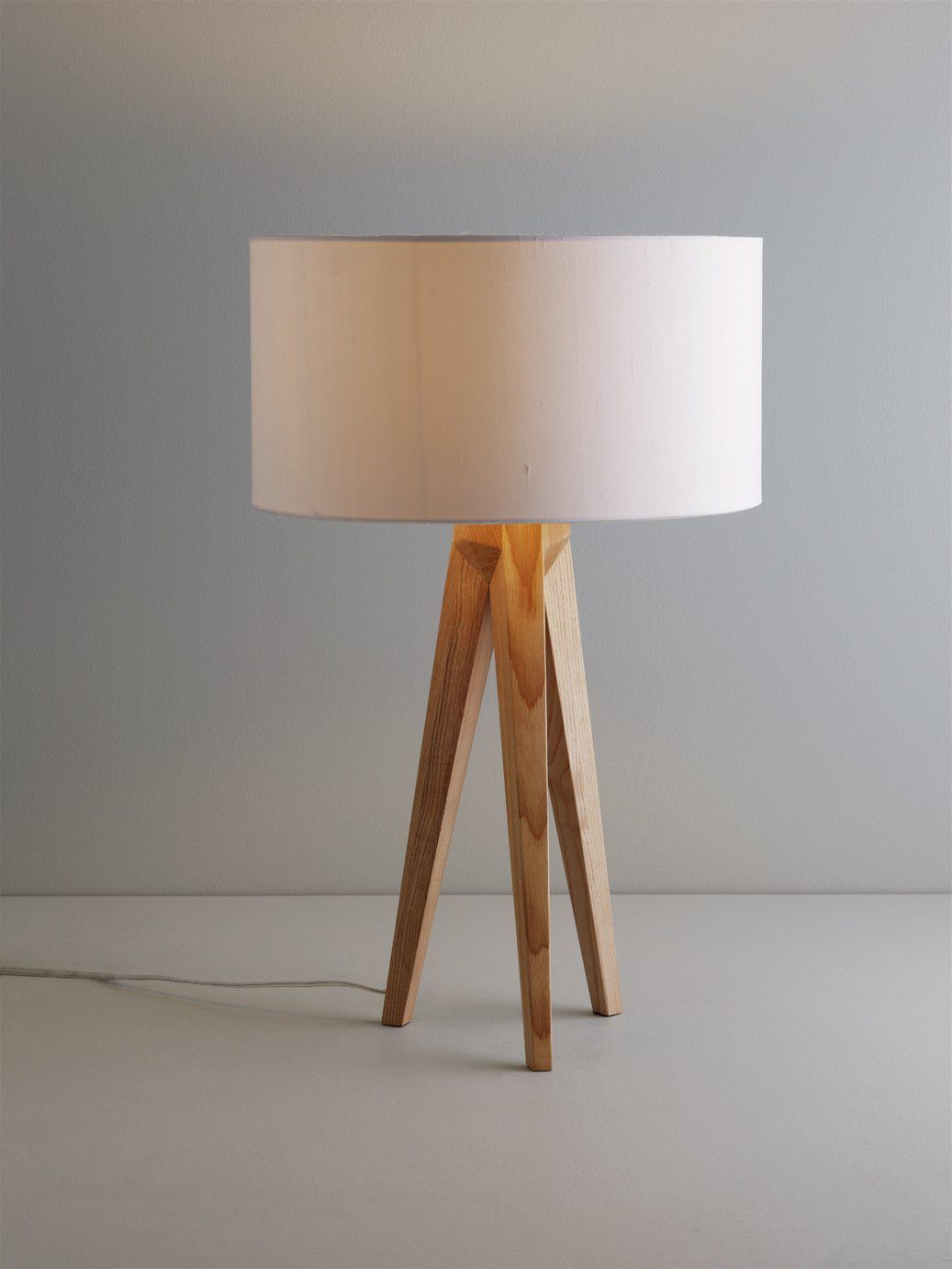 Habitat Tripod Table Lamp Base Ash Ash Base Habitat Lamp Table Tripod In 2020 Table Lamp Wood Table Lamp Base Tripod Table