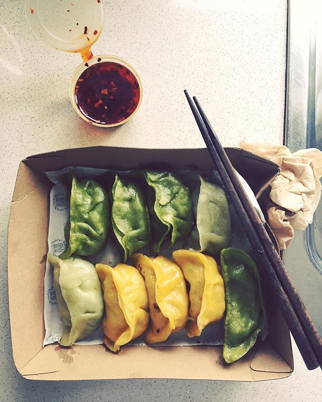 Vegan Dumplings From Blissful Station In Box Hill Food Vegan Recipes Food Lover