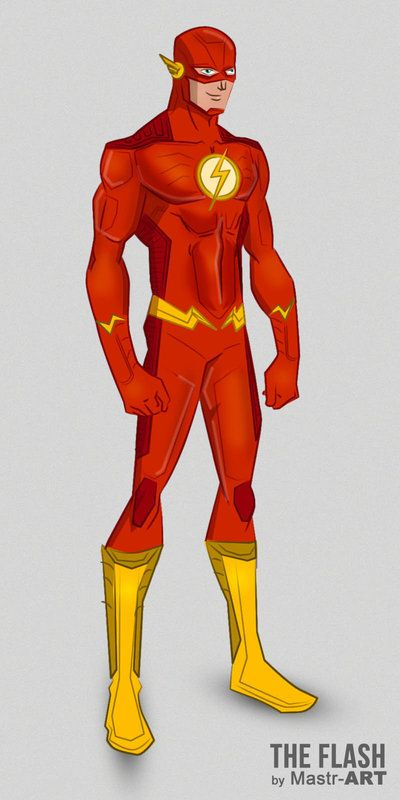 Back Hehe I Combined His New All Red Costume With The Some Padded Pattern From YoungJustice Teentitans Titans DCcomics Flash KidFlash