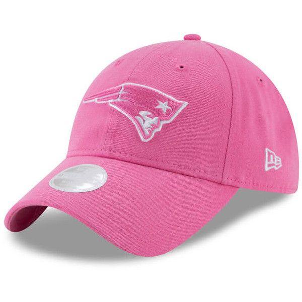 Women s New England Patriots New Era Pink Preferred Pick II 9TWENTY...  ( 20) ❤ liked on Polyvore featuring accessories 685976b33c