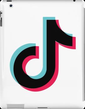Tik Tok Logo Tiktok Black Ipad Snap Case By Josephchill Logos Brand Stickers Snapchat Logo