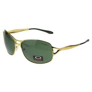 Oakley EK Signature Eyewear Gold Frame Gray Lens