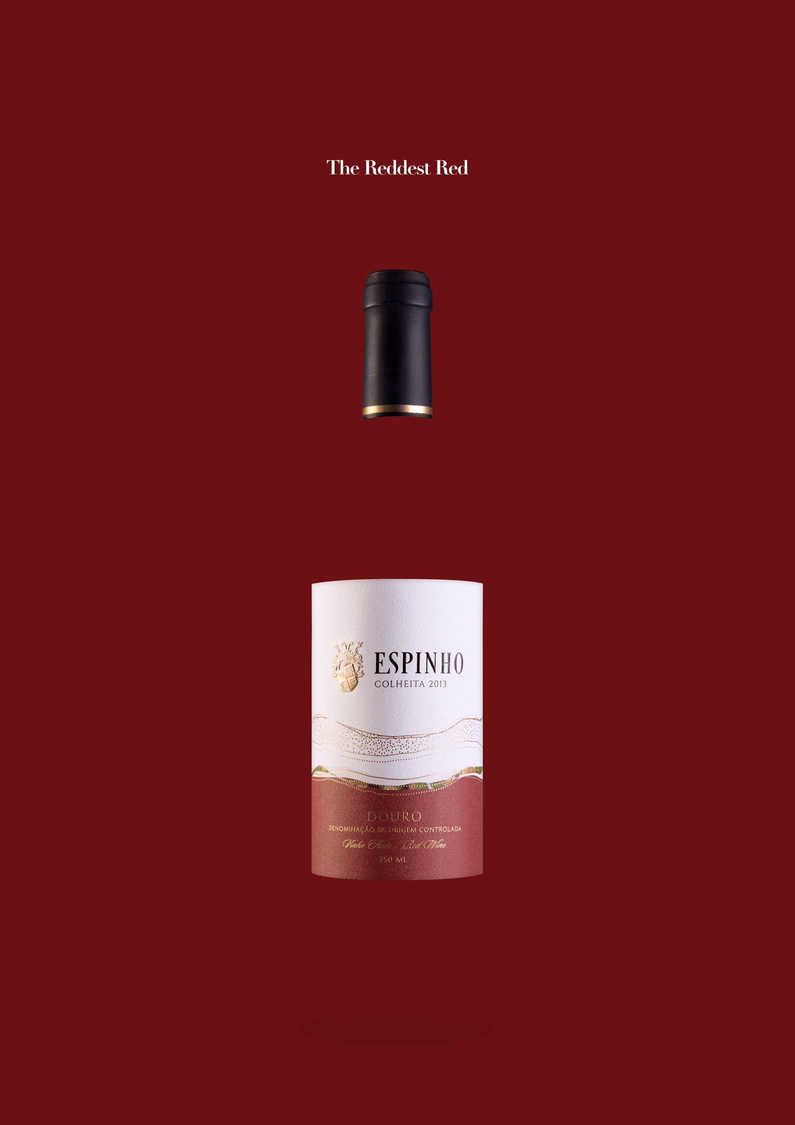 Quinta Do Espinho Wine Red White Adeevee Wine Advertising Wine Packaging Design Wine Bottle Design