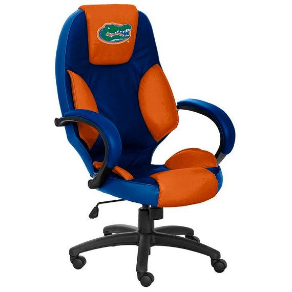 Florida Gators Full Leather Commissioner Office Chair On Etsy 399 99