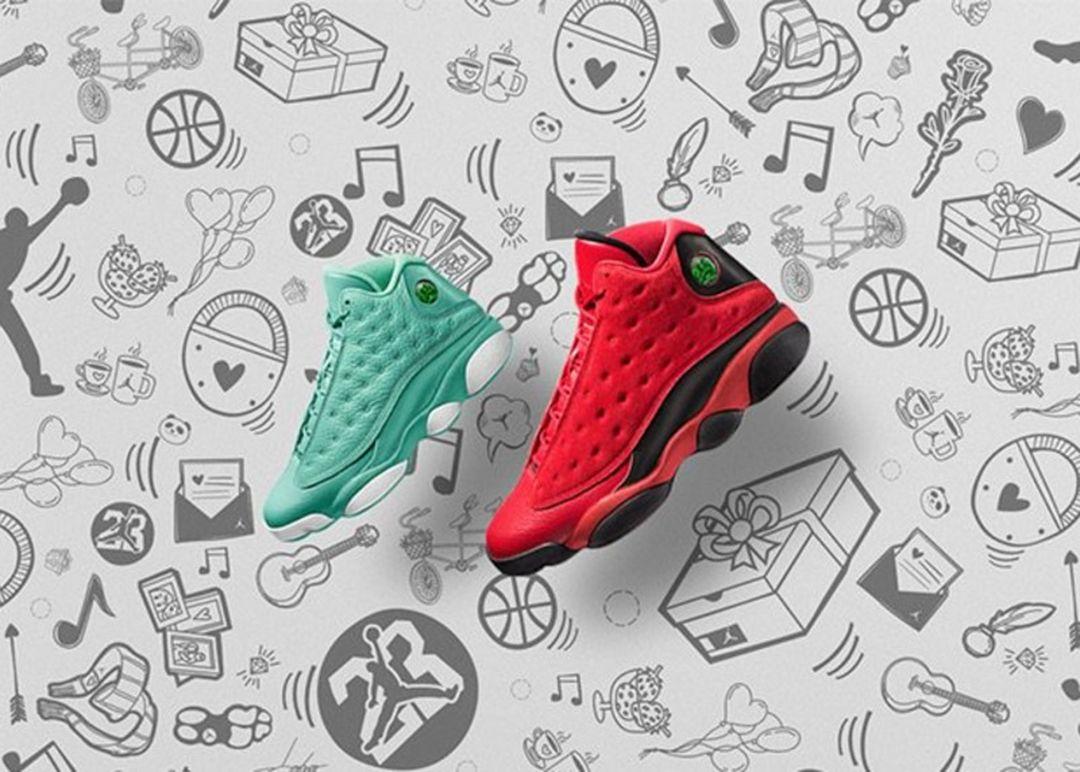 Air Jordan 13 What Is Love Pack Poster 1080x772